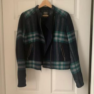 Gap plaid jacket